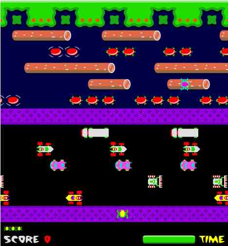 frogger in flash